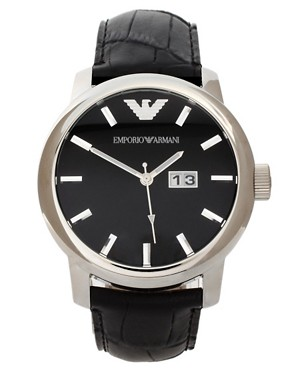 Image 1 ofEmporio Armani AR0428 Classic Core Leather Watch