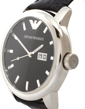 Image 4 of Emporio Armani AR0428 Classic Core Leather Watch