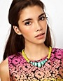 Image 2 ofASOS Faceted Bead Collar Necklace