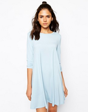 Glamorous Swing Dress with Long Sleeves