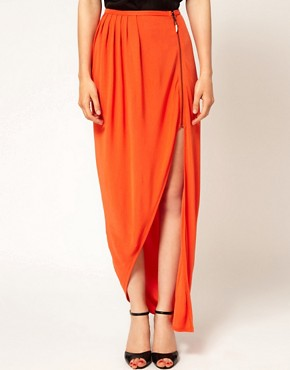 Image 4 ofKore by Sophia Kokosalaki Ruched Zip Wrap Skirt