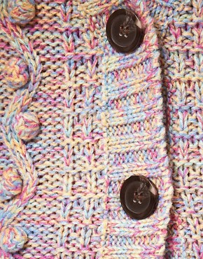 Image 3 ofASOS Cardigan With Bobble Stitch