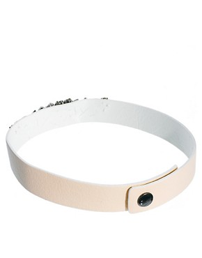 Image 4 ofLimited Edition Jewel Leather Choker Necklace