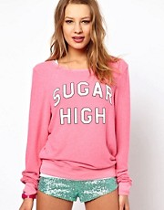 Wildfox Sugar High Baggy Jumper