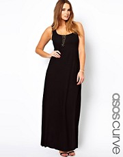 ASOS CURVE Exclusive Vest Maxi Dress