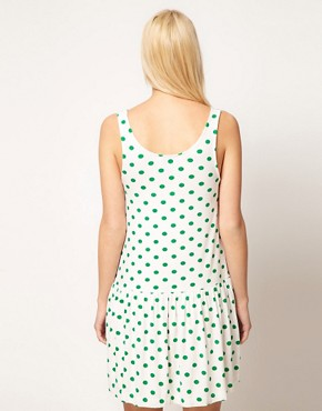 Image 2 ofASOS Summer Dress In Spot Print