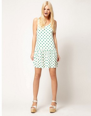 Image 4 ofASOS Summer Dress In Spot Print