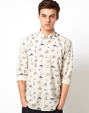 Selected Sea Print Shirt