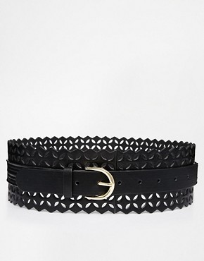 Asos ASOS Waist Belt With Laser Cut