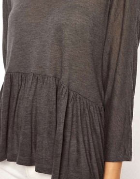 Image 3 ofASOS Trapeze Top in Loose Knit