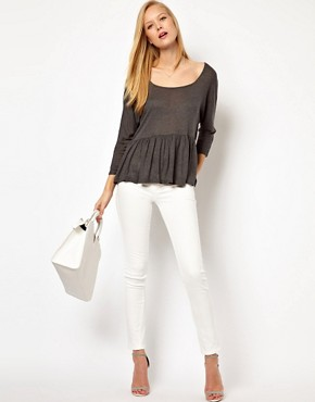 Image 4 ofASOS Trapeze Top in Loose Knit