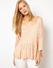 ASOS Trapeze Top in Loose Knit