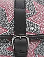 Image 4 ofMaison Scotch Star Print Leather Satchel