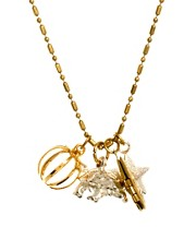Sam Ubhi Tortoise Charm Necklace