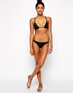 Image 4 ofASOS Mix and Match Moulded Cross Back Triangle Bikini Top