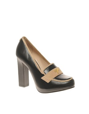 Image 1 ofKat Maconie Tabitha colourblock court shoe