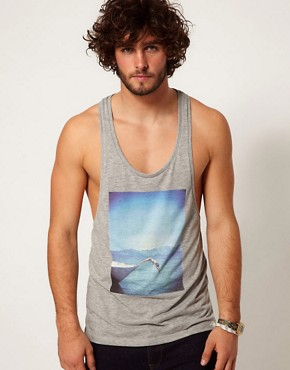 Image 1 of ASOS Vest With Photographic Print