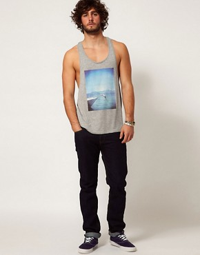 Image 4 of ASOS Vest With Photographic Print