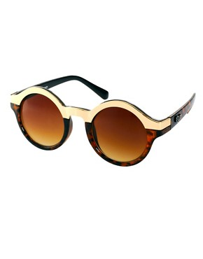 Image 1 ofQuay Oh Mi Half Round Sunglasses