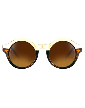Image 2 ofQuay Oh Mi Half Round Sunglasses