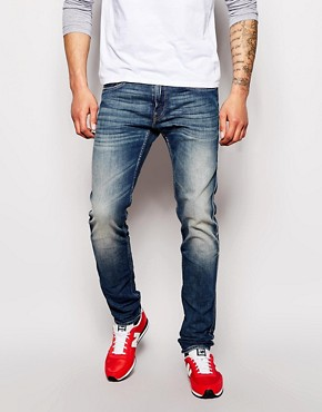 Replay Jeans Anbass Slim Fit Stretch Barent Mid Wash