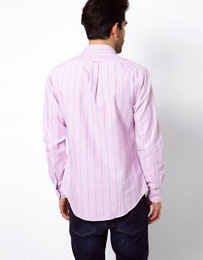 Image 2 ofPolo Ralph Lauren Shirt In Pink Pastel Stripe