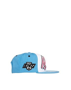 Image 4 of Zephyr Kings Swoop Three Tone Snapback Cap