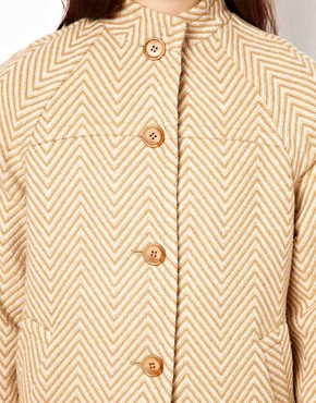 Image 3 ofOasis Herringbone Coat