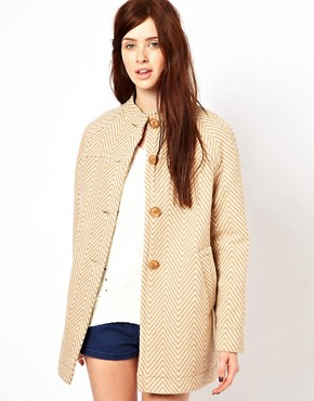 Image 1 ofOasis Herringbone Coat