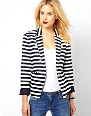 Mango Stripe Jacket