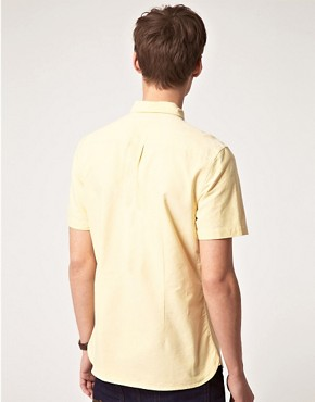 Image 2 ofASOS Short Sleeve Oxford Shirt