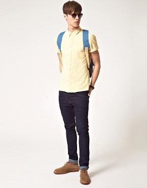 Image 4 ofASOS Short Sleeve Oxford Shirt