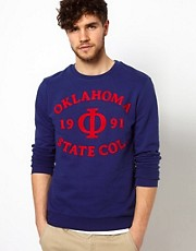 ASOS Sweatshirt With Oklahoma Print