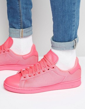 adidas Originals Stan Smith Trainers In Pink BB4997