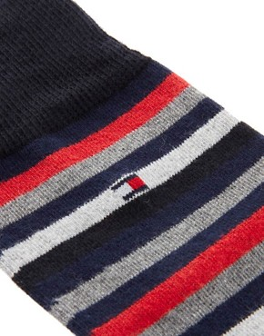 Image 2 ofTommy Hilfiger Mixed 4 Pack Gift Socks