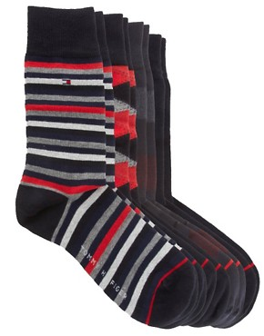 Image 3 ofTommy Hilfiger Mixed 4 Pack Gift Socks