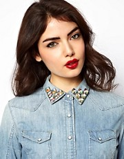 ASOS Honeycomb Collar Pins