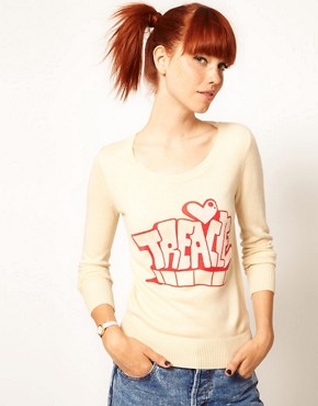 Image 1 ofElizabeth Lau for ASOS &#39;Treacle Tart&#39; Jumper