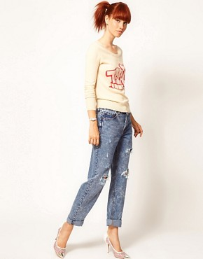 Image 4 ofElizabeth Lau for ASOS &#39;Treacle Tart&#39; Jumper