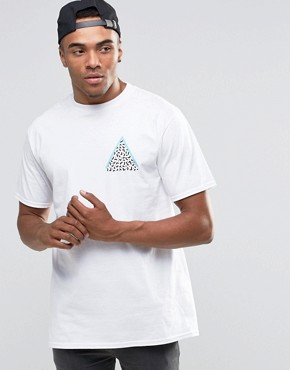 New Love Club 90S Triangle Back Print T-Shirt