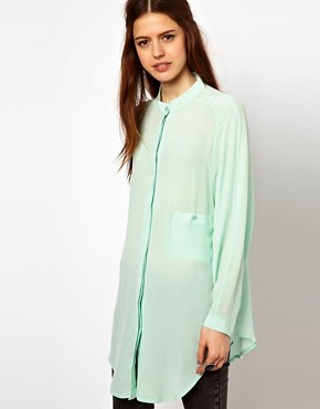 Image 1 ofJust Female Oversized Blouse