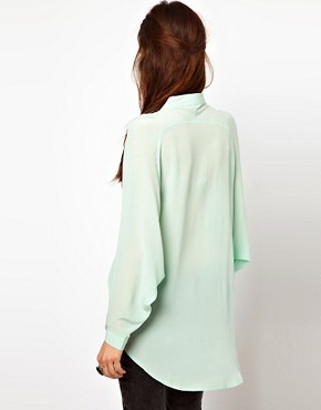 Image 2 ofJust Female Oversized Blouse