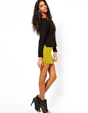 Image 1 ofASOS Mini Skirt in Jersey