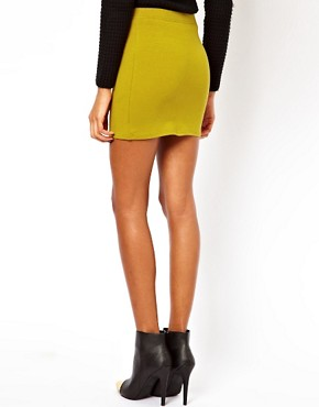 Image 2 ofASOS Mini Skirt in Jersey