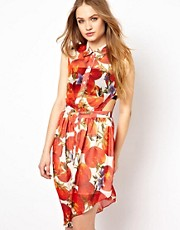 Jovonnista Tomato Print Dress