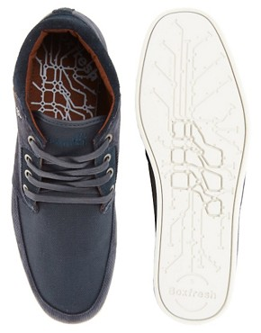 Image 3 ofBoxfresh Eavis Cord Chukka Boots