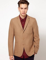 Plectrum By Ben Sherman Patch Pocket 3 Button Blazer