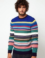 ASOS Texture Fairisle Jumper