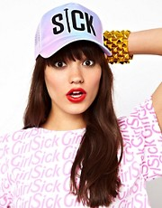 Sick Girl Multi Coloured Ombre Snapback Cap