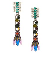 ASOS Stone Pop Drop Earring
